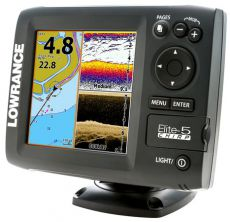 Эхолот Lowrance Elite-5x CHIRP 83/200+455/800